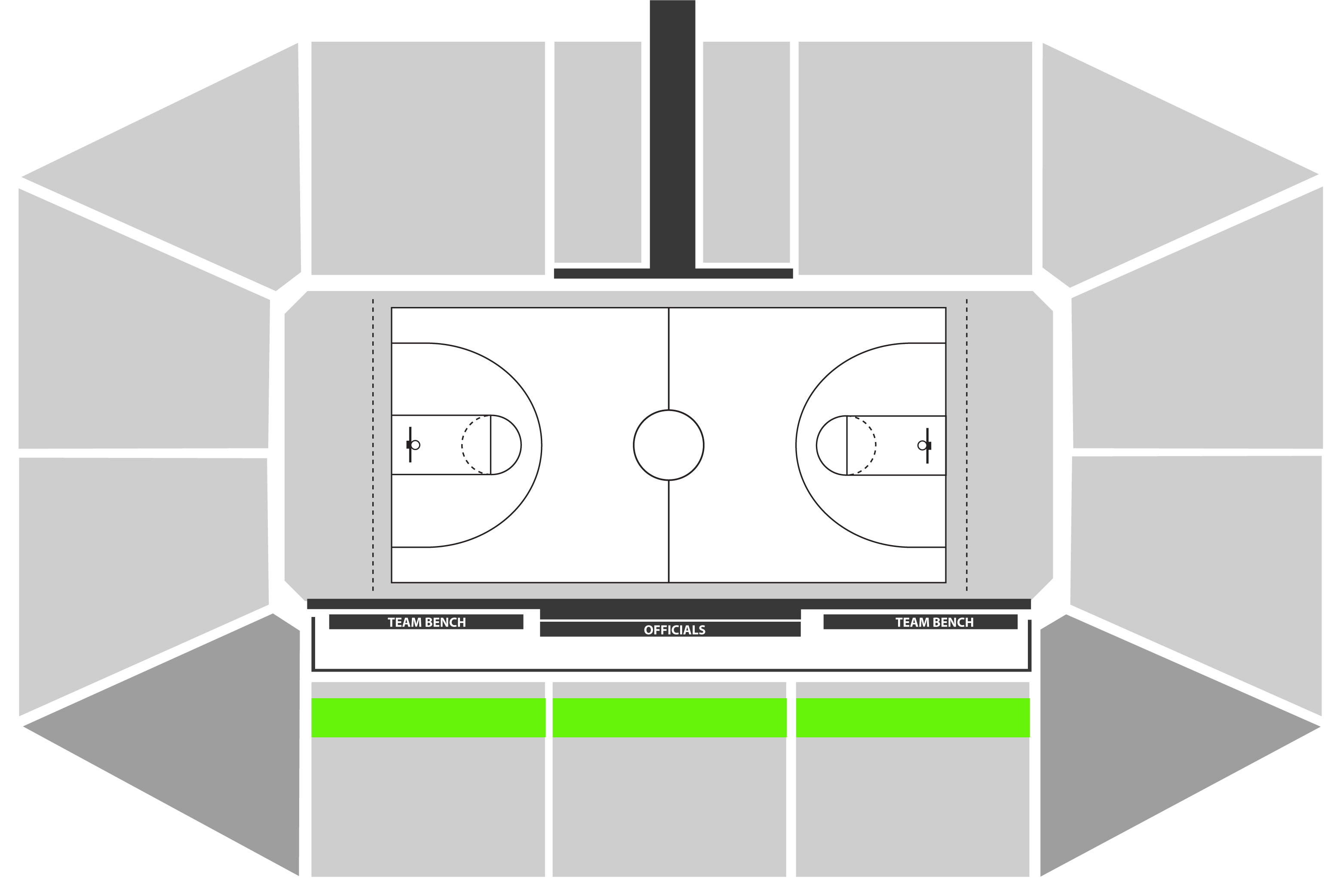 Etihad Stadium - AUS v USA - Bench Zone Row 2 - 3